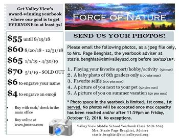 Send In Your Photos!